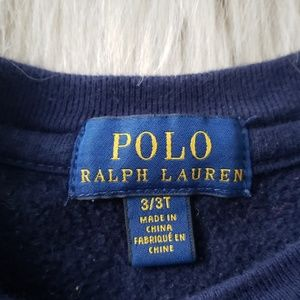 Polo by Ralph Lauren Shirts & Tops - Polo Ralph Lauren Cotton Sweatshirt